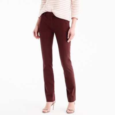 Petite Maddie pant in two-way stretch cotton