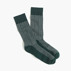 Zigzag performance socks