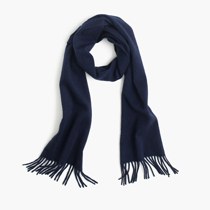 Hogarth™ for J.Crew Scottish cashmere scarf