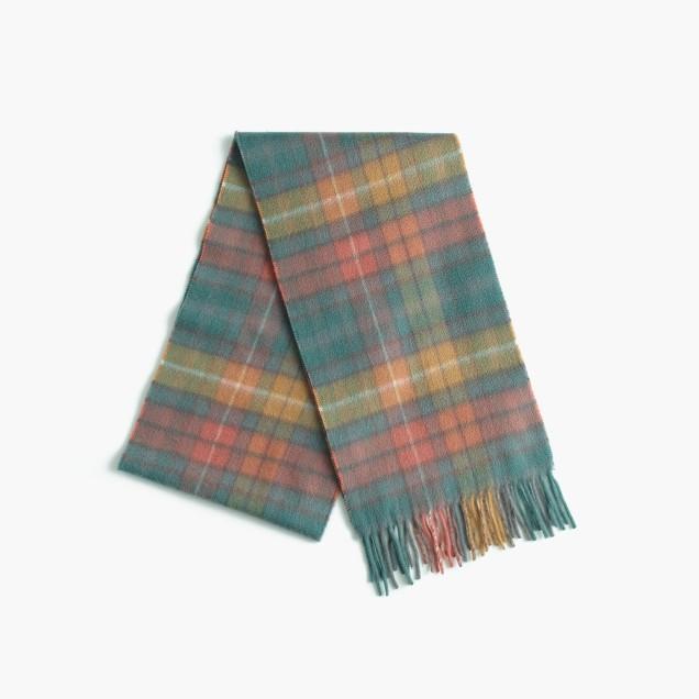 Hogarth™ for J.Crew Scottish tartan cashmere scarf