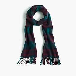 Hogarth™ for J.Crew Scottish tartan cashmere scarf