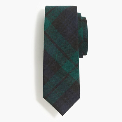 Wool tie in Black Watch tartan