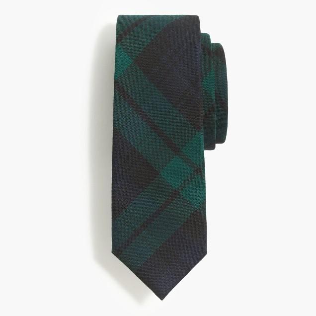Wool tie in Black Watch tartan