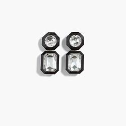 Jewel box drop earrings