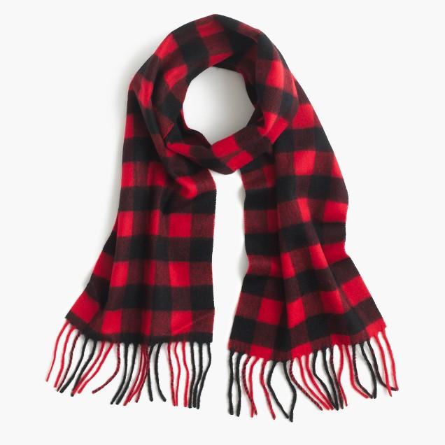 Boys' cashmere scarf