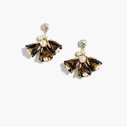 Floral cascade earrings