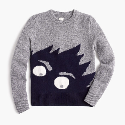 Boys' Max the Monster wool sweater