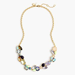 Girls' colorful sea glass necklace