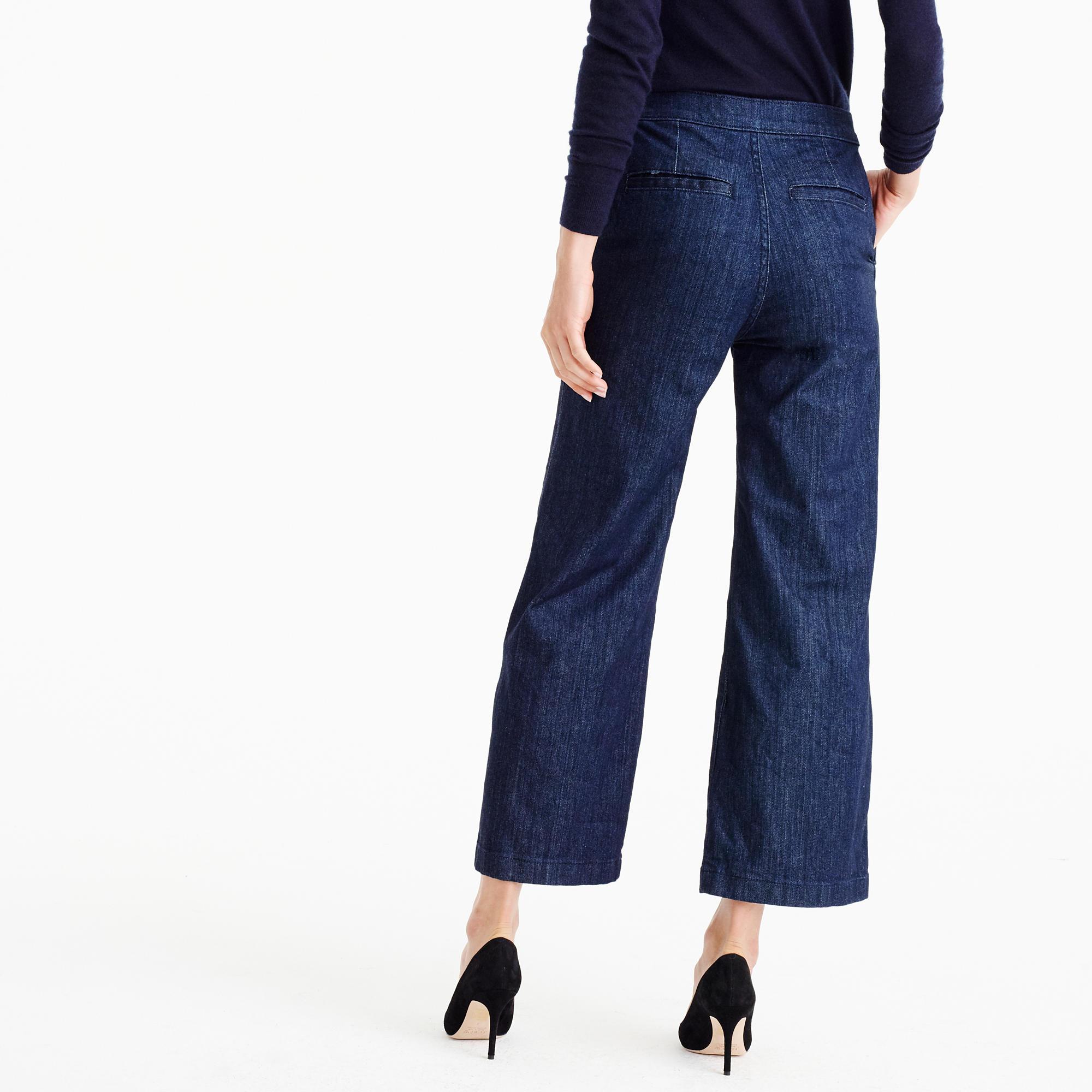 Rayner Trouser Jean In Dark Wash : Women's Jeans   J.Crew