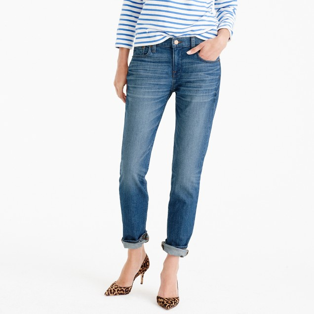Slim boyfriend jean in Brinville wash