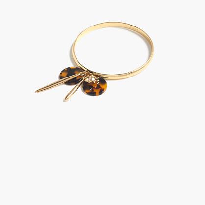 Tortoise charm bracelet