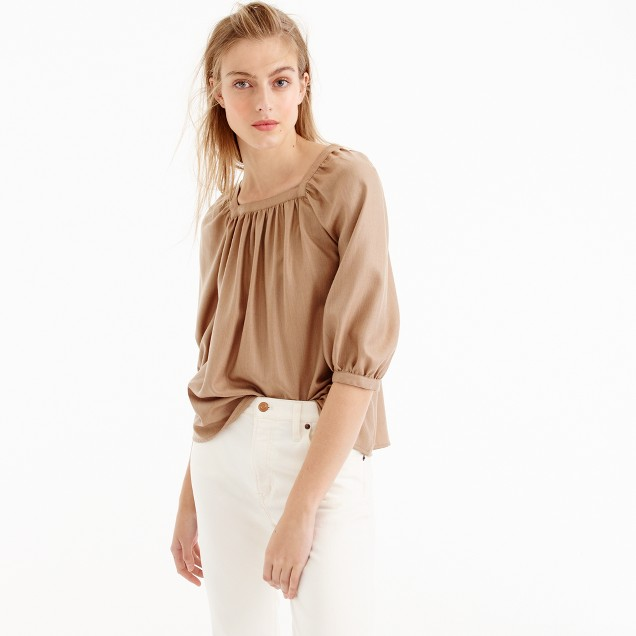 Collection Penny top in Italian cashmere