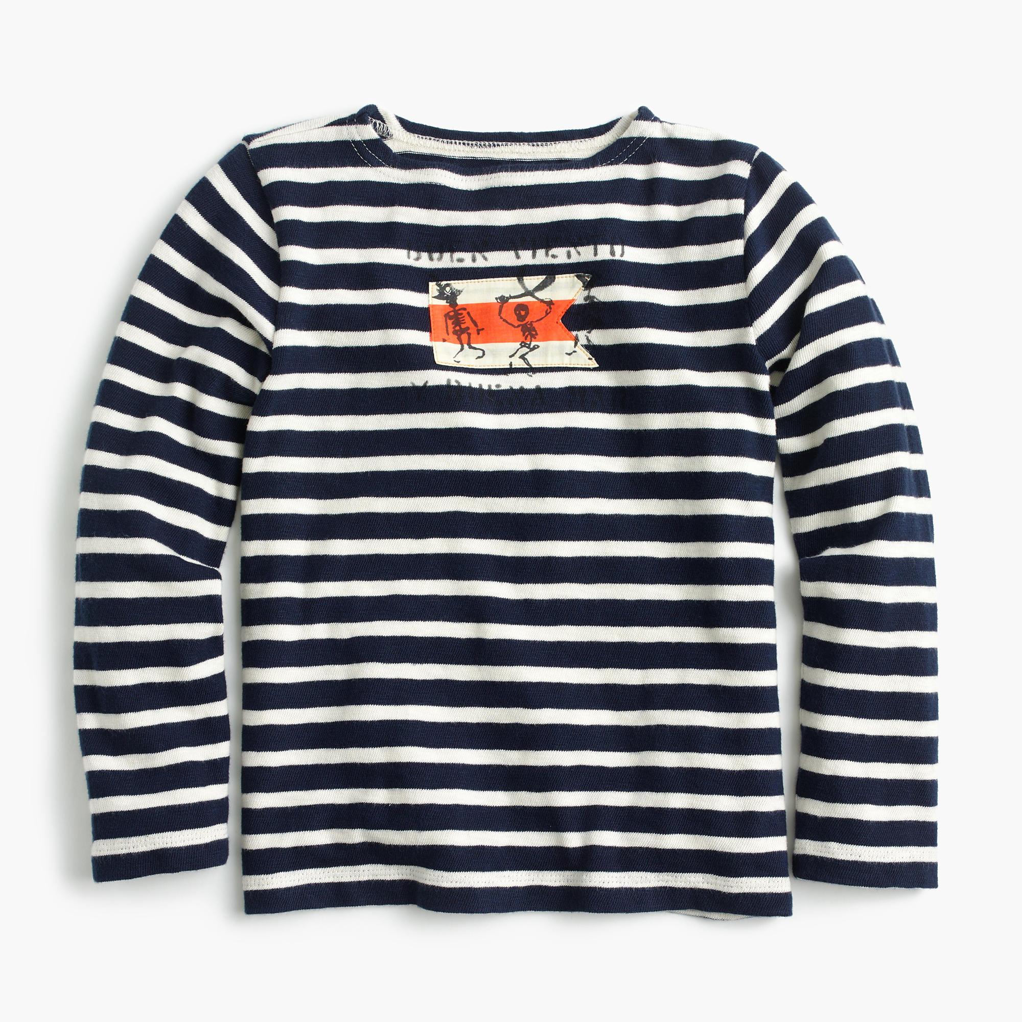 Boys 39 Long Sleeved Pirate Striped T Shirt Boys 39 Shirts
