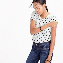Multi polka-dot T-shirt