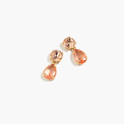 Petite drop earrings