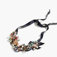 Garland crystal necklace