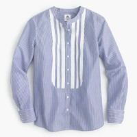 Collection Thomas Mason® for J.Crew shirt with grosgrain bib