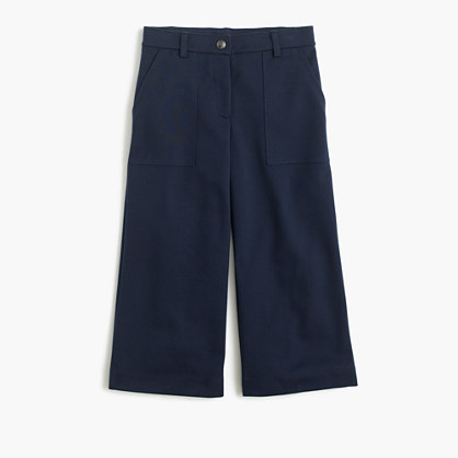 Girls' stretch culotte