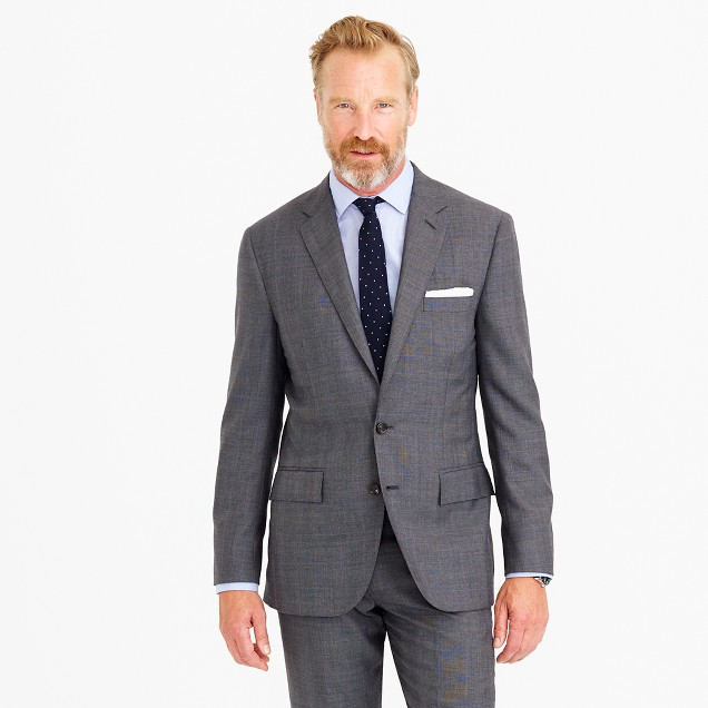 Martin Greenfield™ for J.Crew Ludlow suit jacket in American glen plaid wool