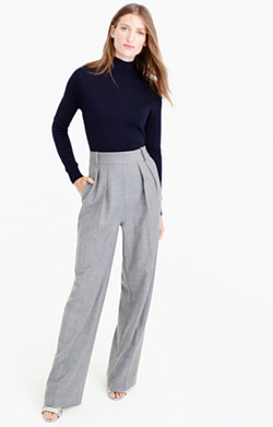 Collection mockneck trouser jumpsuit
