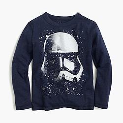 Kids' Star Wars™ for crewcuts Stormtrooper helmet T-shirt