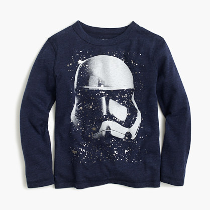 Kids' Star Wars™ for crewcuts Stormtrooper helmet T-shirt