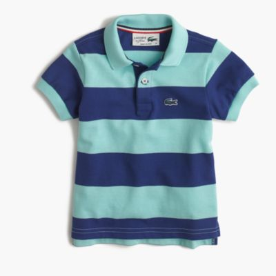 Kids' Lacoste® for J.Crew striped polo shirt