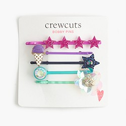 Girls' embellished bobby pin pack