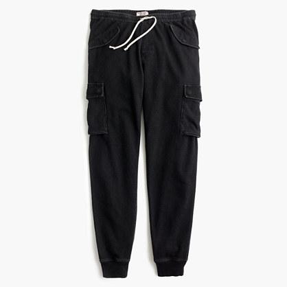 Wallace & Barnes black indigo sweatpant