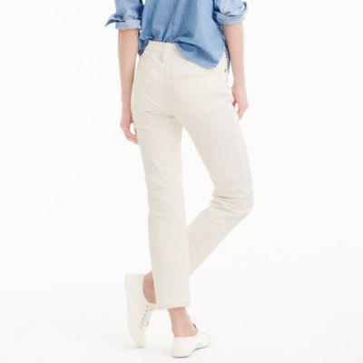 Vintage Crop Jean In Ecru : Women's Jeans   J.Crew