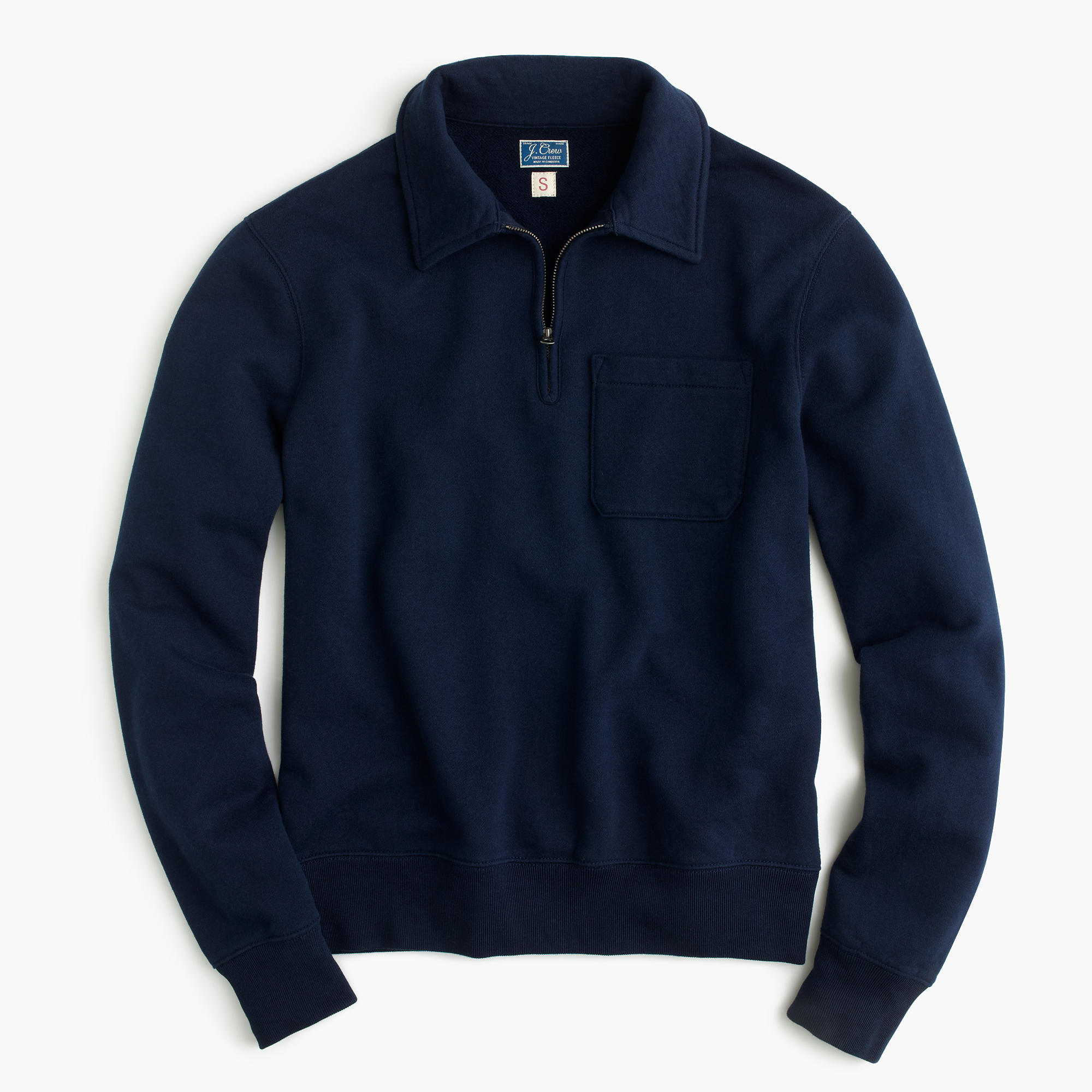 Lightweight Half-Zip Pullover Sweatshirt : Men's Sweatshirts | J.Crew