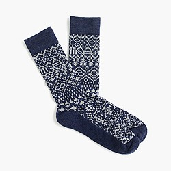 Jacquard performance socks