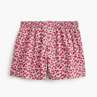 Santa hat print boxers