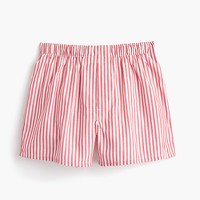 Red striped boxers