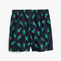 Boys' Christmas tree boxers
