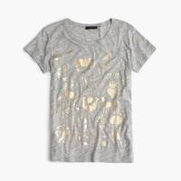 Metallic menagerie T-shirt