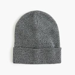 Marled beanie hat