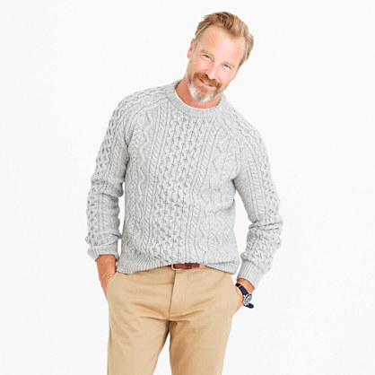 American wool sweater with Imperial yarn