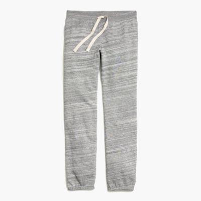 Fleece-lined sweatpants
