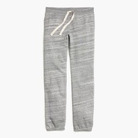 Fleece-lined sweatpants