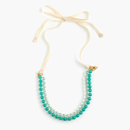 Girls holiday gumball necklace