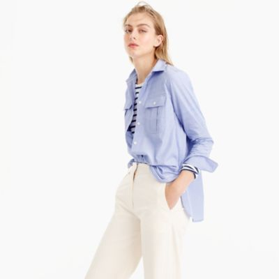 End-on-end cotton workshirt