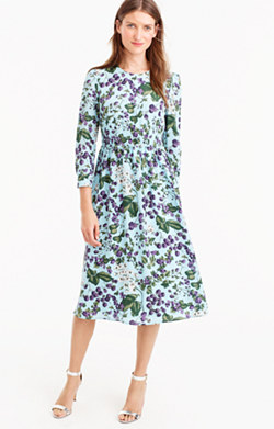 Collection midi dress in Ratti® morning floral print
