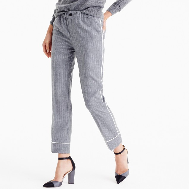 Party pj pant in pinstripe
