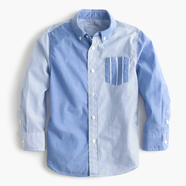 Kids' Secret Wash shirt in mash-up