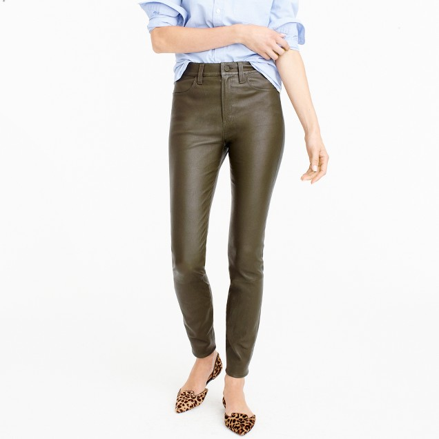 Collection leather pant