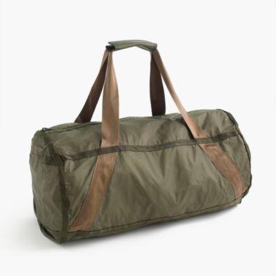 packable ripstop duffel bag s accessories j crew