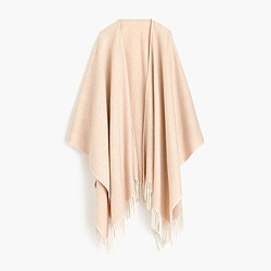 Collection cashmere poncho