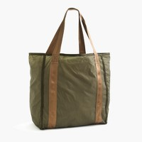 Packable ripstop grocery tote bag