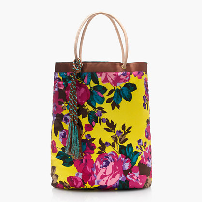 Collection tote in Ratti® Italian silk